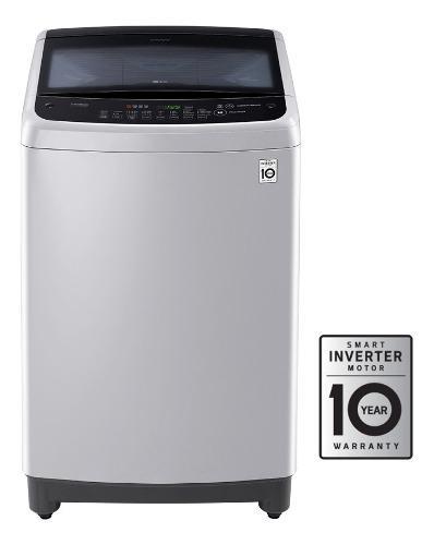 Lavadora lg 29 libras wt13dsbpasfecol smart inverter gris