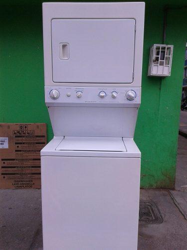 Lavadora y secadora en torre frigidaire u. s. a