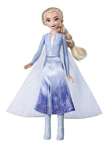 Muñeca elsa aventura mágica frozen 2