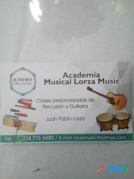 Curso de percusion y guitarra 2