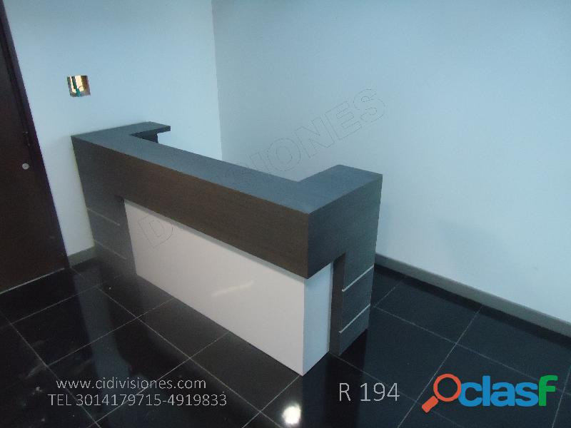 Mobiliario y Divisiones oficina