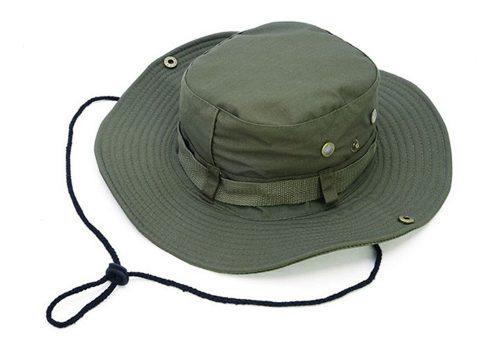 Sombrero De Pesca De Ala Ancha Caza Transpirable Campin...