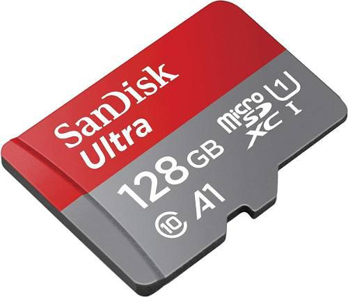 Sandisk Ultra Micro Sd 128gb C10 U1 A1 100mb Envío Ya