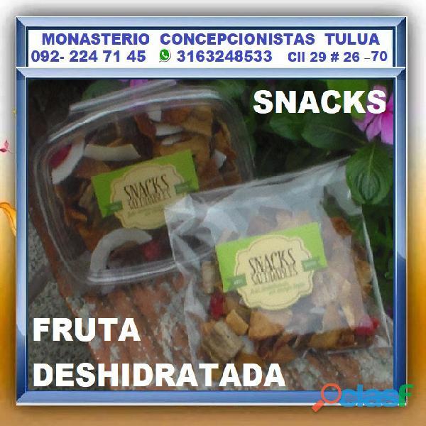 ⭐ fruta deshidratada, snacks saludables, deshidrato, vegetales, especias, frutas y demás productos.✔