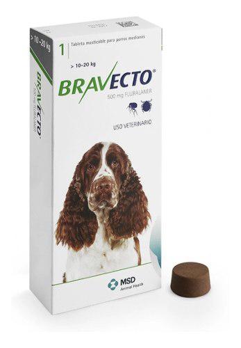 Antipulgas Bravecto 10 A 20 Kg Envio Gratis