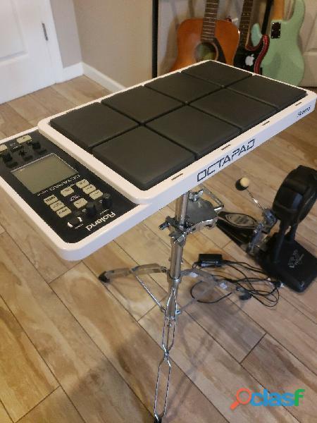Roland spd 30 octopad con soporte y pedal v drums