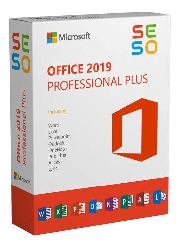 Office 2019 pro.plus + licencia permanente + envío digital