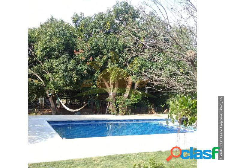 En venta casa campestre con piscina, en bonda-02