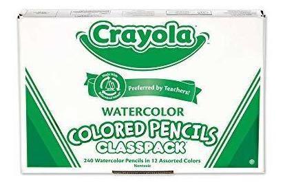 Crayola Classpack Acuarela, Útiles Escolares, 12 Colores V