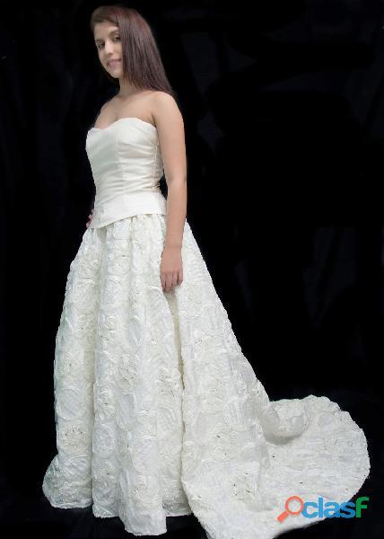 Venta de vestido beige para matrimonio en itagui