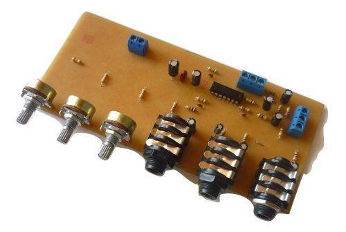 Mixer Mezclador 3 Microfonos