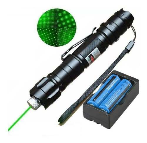 Puntero Laser Verde Apuntador Astronomia Recargable Astronom