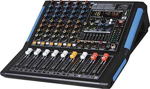 Sixchannel Profesional Mezclador De Audio Con Interfaz Usb B