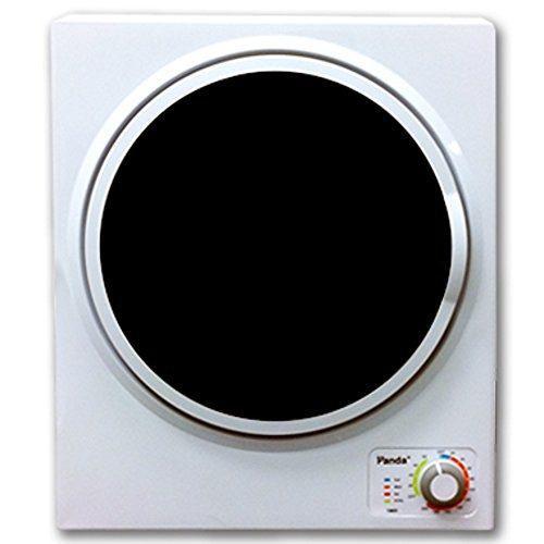 Secador de ropa compacto panda 1.50 pies cúbicos, blanco y