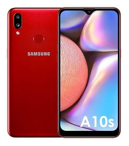 Celular samsung a10s 32gb - rojo
