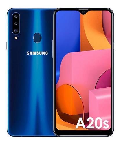 Celular samsung galaxy a20s 32gb - azul