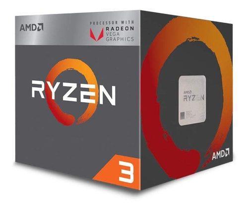 Procesador Amd Ryzen 3 3.7 Ghz + Radeon Vega Graphics 8