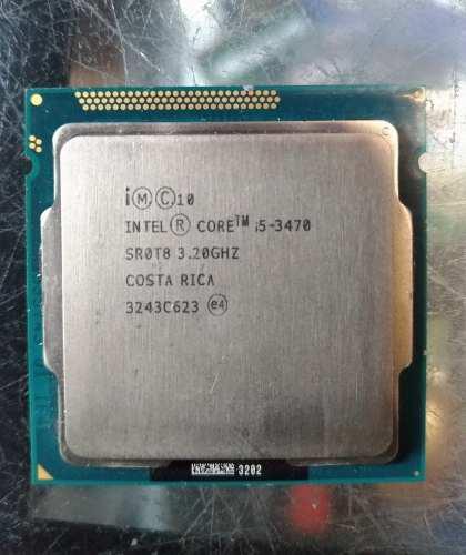 Procesador Intel Core I5 3470 Tercera Generacion Socket 1155