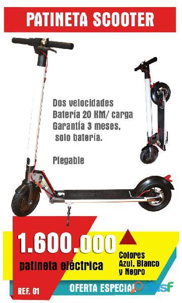 Patineta Eléctrica Scooter.