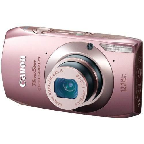 Cámara digital canon powershot elph 500 hs 12.1 mp cmos con