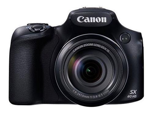Cámara digital canon powershot sx60 hs - wi-fi habilitado