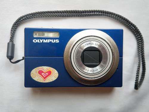 Cámara digital olympus fe-5010 12mp + cargador + accesorios