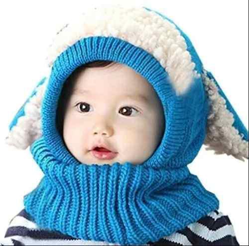 Gorro tipo bufanda frio abrigador niños-entrega ya
