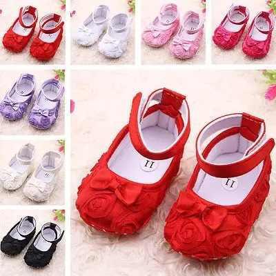 Hermosos zapatos para bebe niña moño