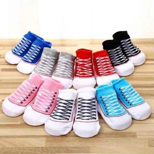 Medias convers bebe antideslizante calcetines algodon zapato