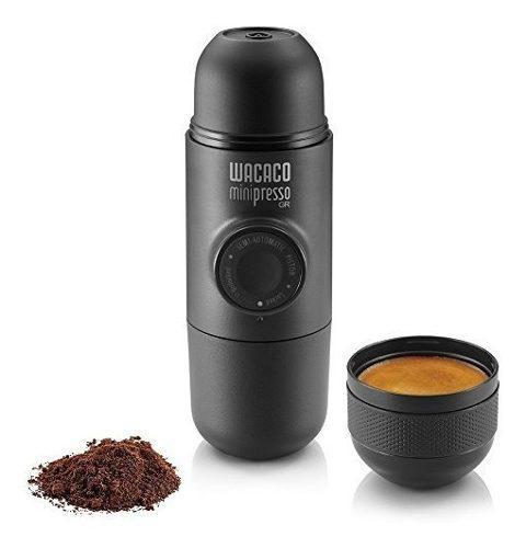 Wacaco minipresso gr cafetera express portatil camping viaje