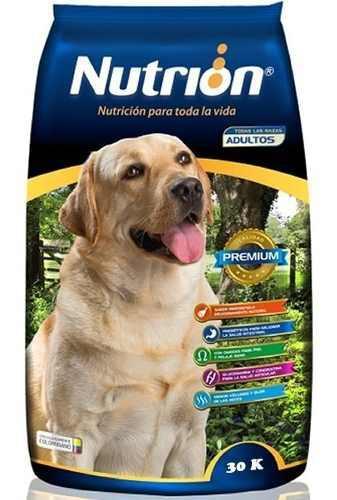 Alimento perros adultos concentrado nutrion 30 kls super pre