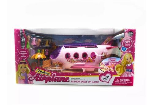 Avión lujo fashion muñecas símilar barbie con accesorios