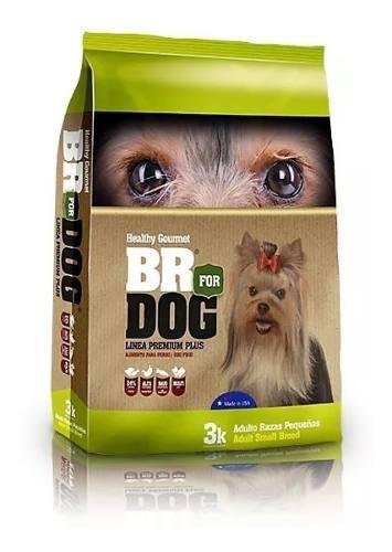 Br for dog perros adultos razas pequeñas 3kg