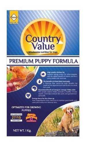 Country Value Perros Cachorros 40lb