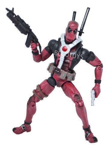 Deadpool Figura Articulada De Accion Importada Accesorios