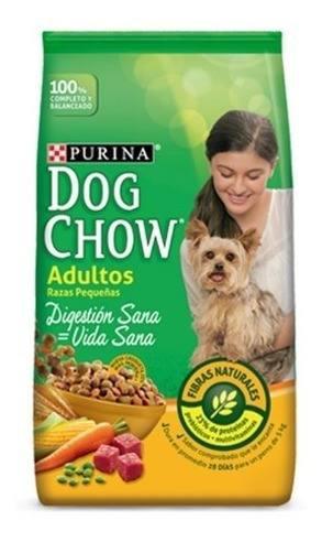 Dog chow adultos raza peq 17kilos envio nal gratis