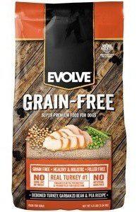 Evolve Dog Grain Free Pavo X 28lb
