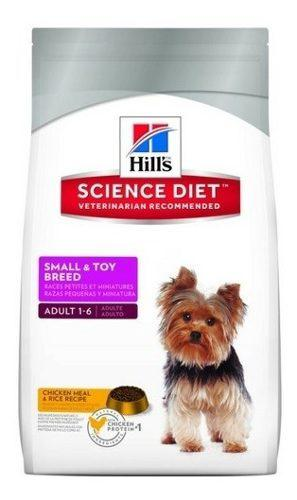 Hill's Adulto Small And Toy Breed Lamb And Rice 4,5lb