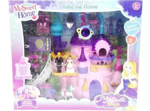 Juguete Castillo Muñecas Y Accesorios My Castle Beauty