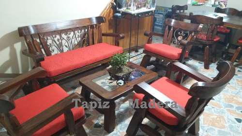 Muebles Para Finca En Madera Terminado Rústico Colonial