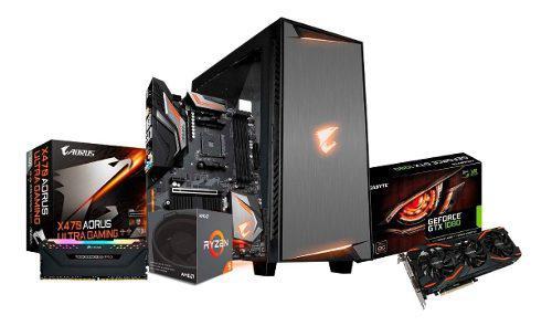 Pc Gamer Ryzen 5 3600 + Ram 8gb + Gtx 1080 8gb + Ssd 480gb