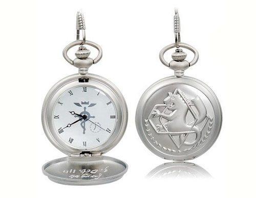 Reloj fullmetal alchemist color plata