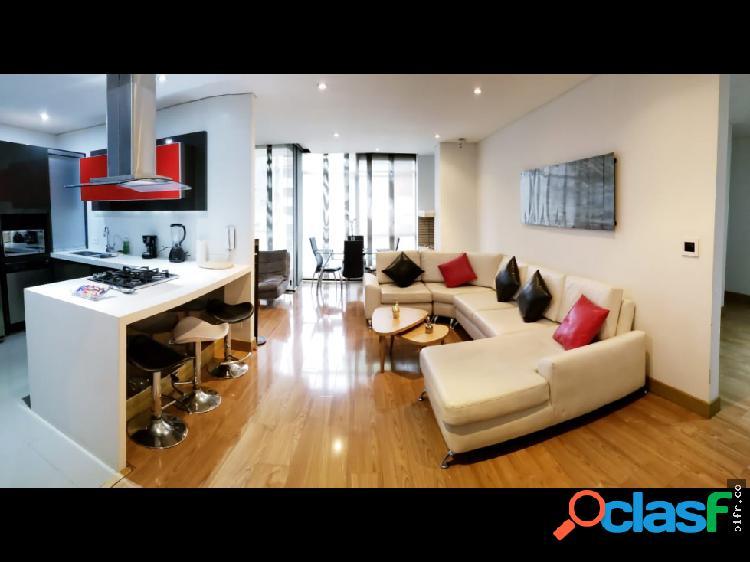 Alquiler apartamento amoblado chico norte 123 mts