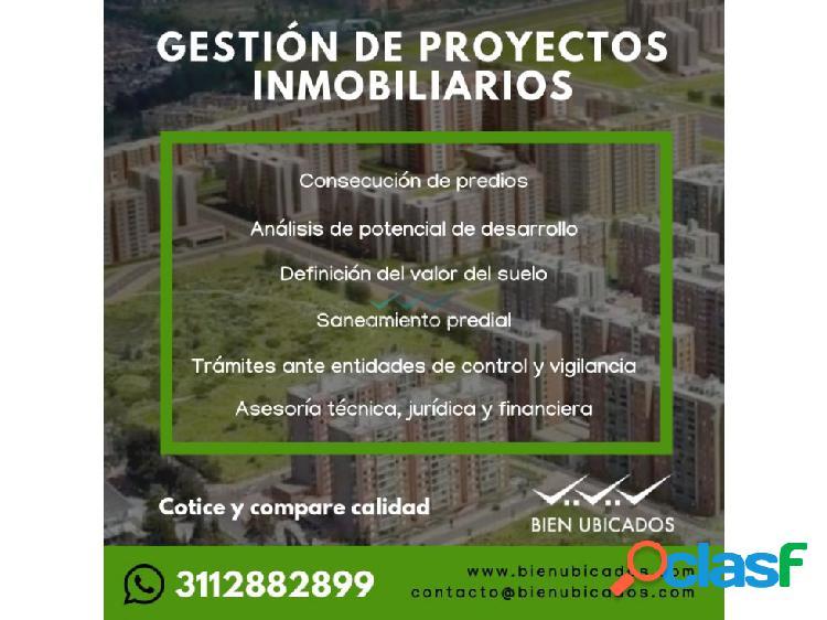 Gestion de proyectos inmobiliarios