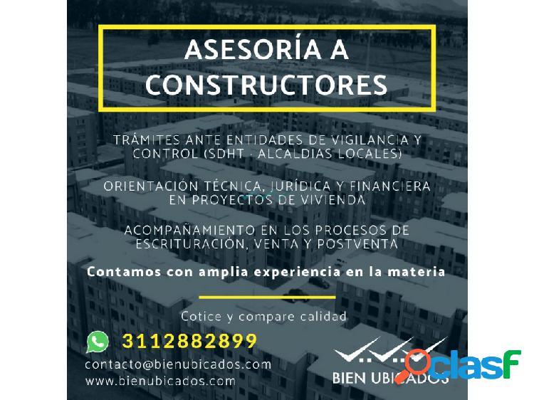 Asesoria a constructores