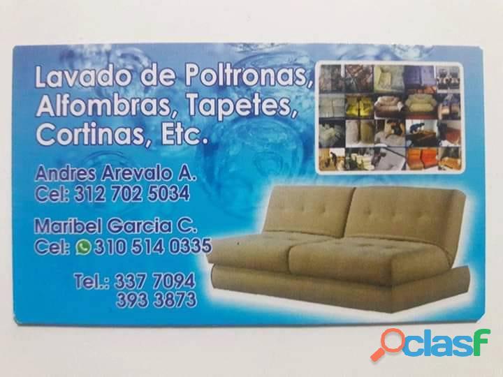Lavado de muebles tapetes cortinas poltronas colchones servicio a domicilio garantizado.