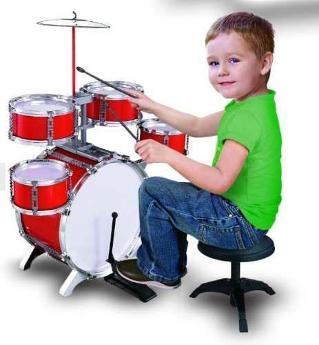 Bateria musical drum jazz 6 piezas jugueteniños 661-885