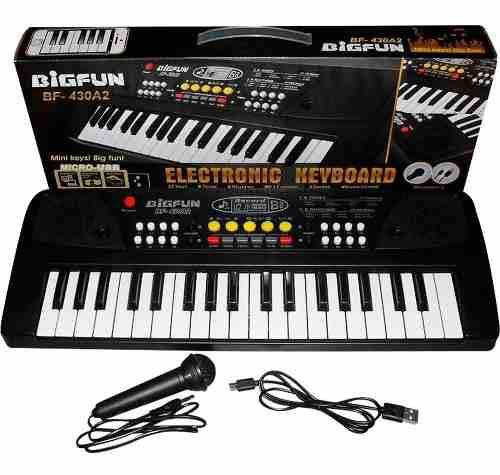 Gran teclado 37 organeta piano graba pistas +que un juguete