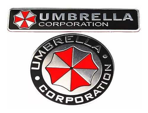 Logo De Aluminio Coche 3d, Umbrella Corporación.