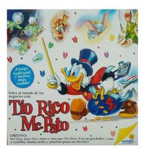 Monopolio Tio Rico Mc Pato Ronda Edición Especial 051002